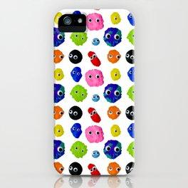 GOOGLY BLOBS iPhone Case
