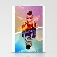 grimes Stationery Cards featuring GRIMES by OmaPRINTS