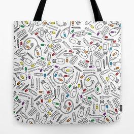 Hospital Pattern Tote Bag