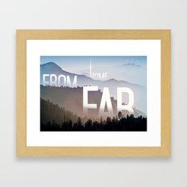 Far from Home Framed Art Print