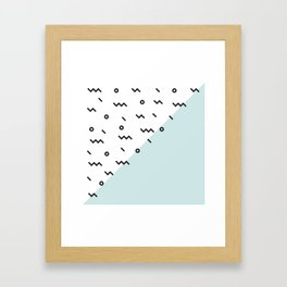Agua dulce Framed Art Print