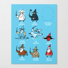 Know Your Wizards Canvas Print
