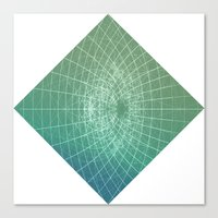 square Canvas Prints featuring square by Alessandro Spedicato