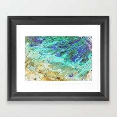 The flood Framed Art Print