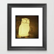 owl-y Framed Art Print