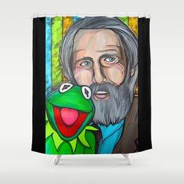Jim Henson Shower Curtain