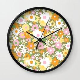 vintage 14 Wall Clock