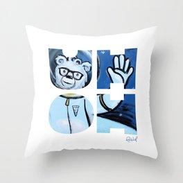 UHOH Throw Pillow