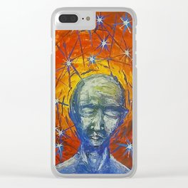 Existential Blues Clear iPhone Case