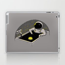 Space bath Laptop & iPad Skin