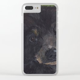 Innocence In The Wild Clear iPhone Case