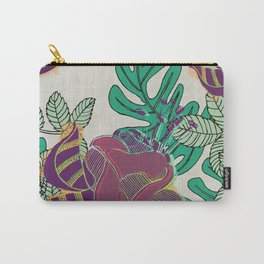 Lush Florals (Jungla 01) Carry-All Pouch