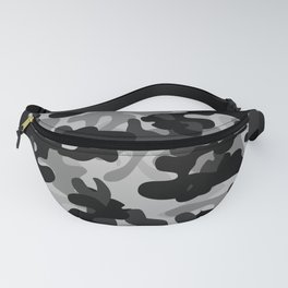 Camouflage (Gray) Fanny Pack