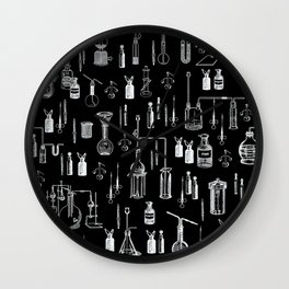 Mad Science Wall Clock