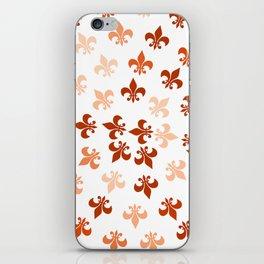 Autumn Fleur-Di-Lis iPhone Skin