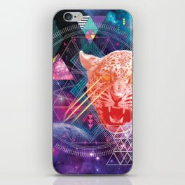 Intergalactic Leopard iPhone Skin