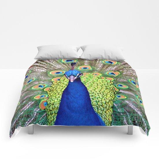 Proud Peacock Comforters