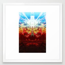 Ego (Persistence of Being) Framed Art Print