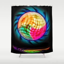 Digital Painting 2 Shower Curtain