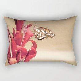 """Gulf Fritillary 2"" by Murray Bolesta! Rectangular Pillow"