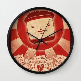 Tofu Revolution Wall Clock