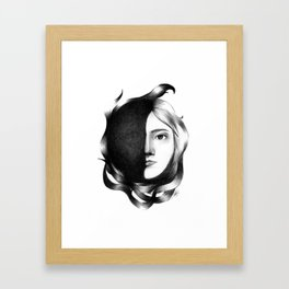 Their Masks Disappear Soon Framed Art Print