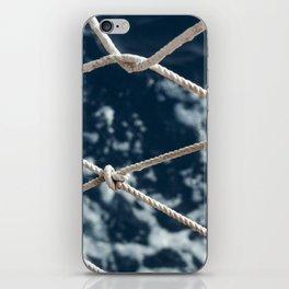 Nautical rope iPhone Skin