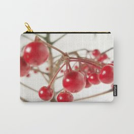 Scarlet Berry  Carry-All Pouch