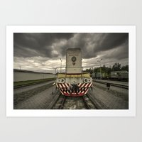 soviet Art Prints featuring Soviet Diesel  by Rob Hawkins Photography