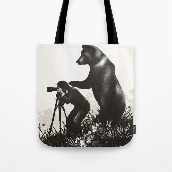 The Bear Encounter II Tote Bag