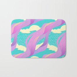 """look up"" pattern Bath Mat"