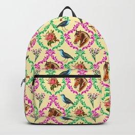 Grandmas Wallpaper Backpack
