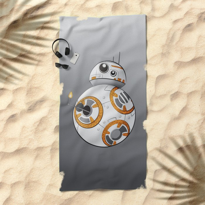 War in the Stars -- BB-8 Beach Towel