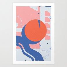 Rosetta (1) Art Print