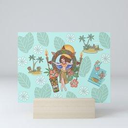 Island delight Mini Art Print
