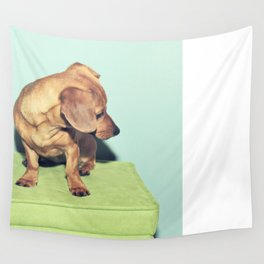 Love your wiener  Wall Tapestry