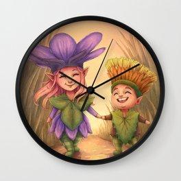 Children of Spring Wall Clock