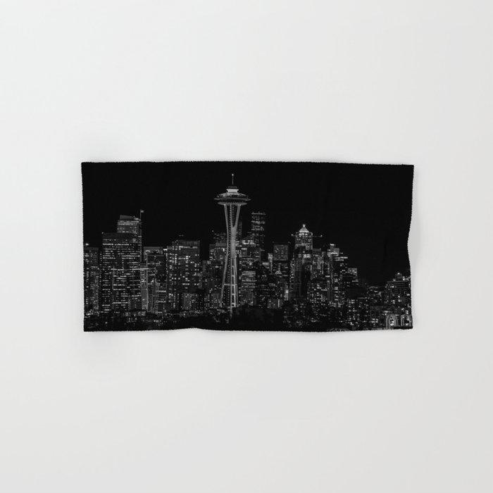 Seattle City Lights Hand & Bath Towel