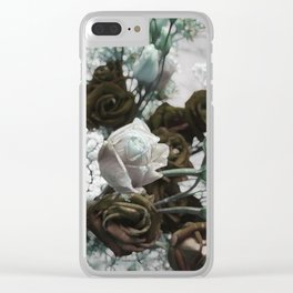 warm and winterful Clear iPhone Case