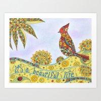 Beautiful Life Art Print