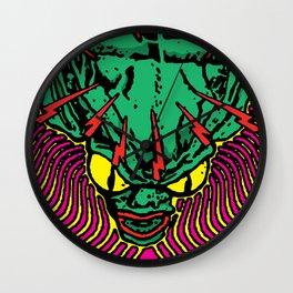 Lysergic Saucer-Man Wall Clock