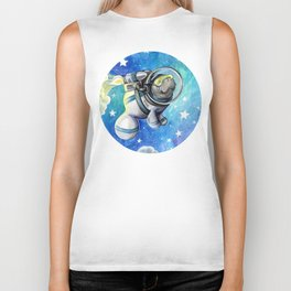 Space Man... atee Biker Tank