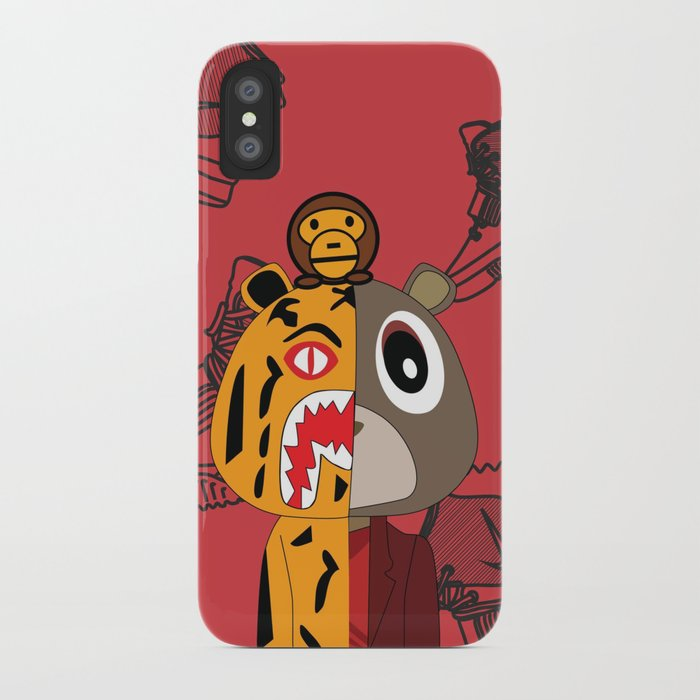 quality design 25f7c a82a5 Yeezy X Bape iPhone Case by brianhang