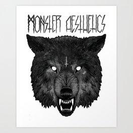 ‡ hell hound ‡  Art Print