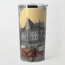 The mobile city Travel Mug