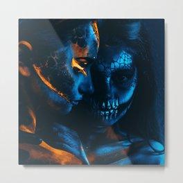 Look Like Zombie Girls, UV Colors Metal Print
