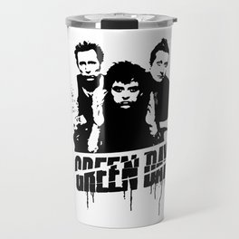 ROCK ART #PUNK band #Gday stencil Travel Mug