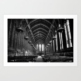 Suzzallo Library Art Print