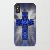 cross iPhone & iPod Cases featuring Cross by Mr D's Abstract Adventures