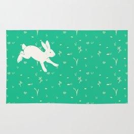 Running Bunny Rug
